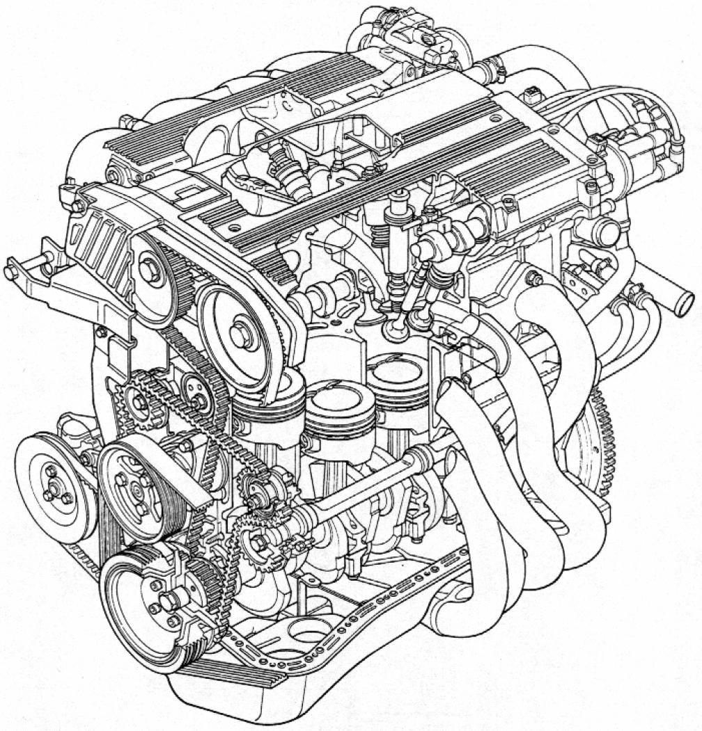 engine cutaway diagram  engine  free engine image for user