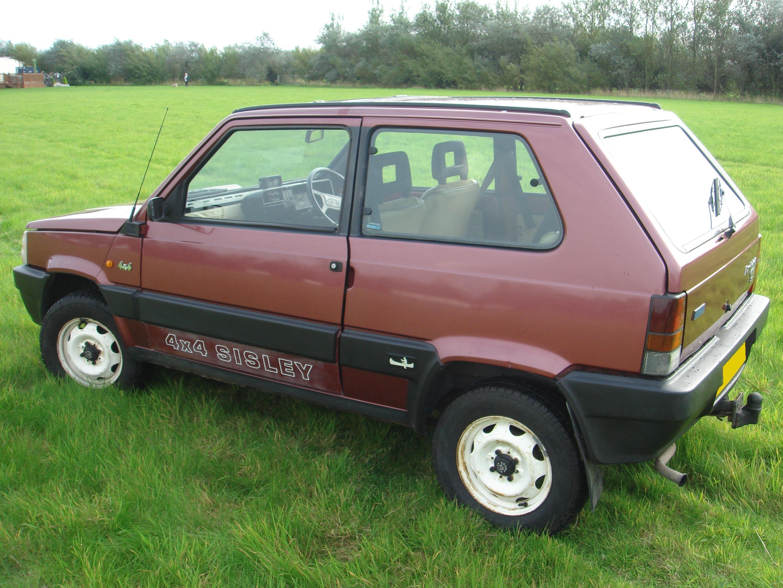 Fiat Panda 4x4 Sisley. 1988 Sisley 4x4 - The FIAT