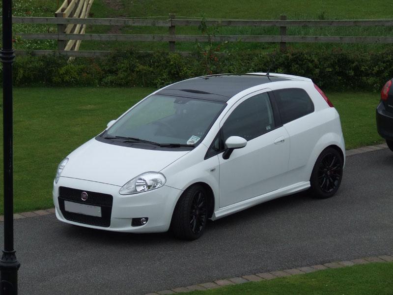 Grande Punto My White Gps The Fiat Forum