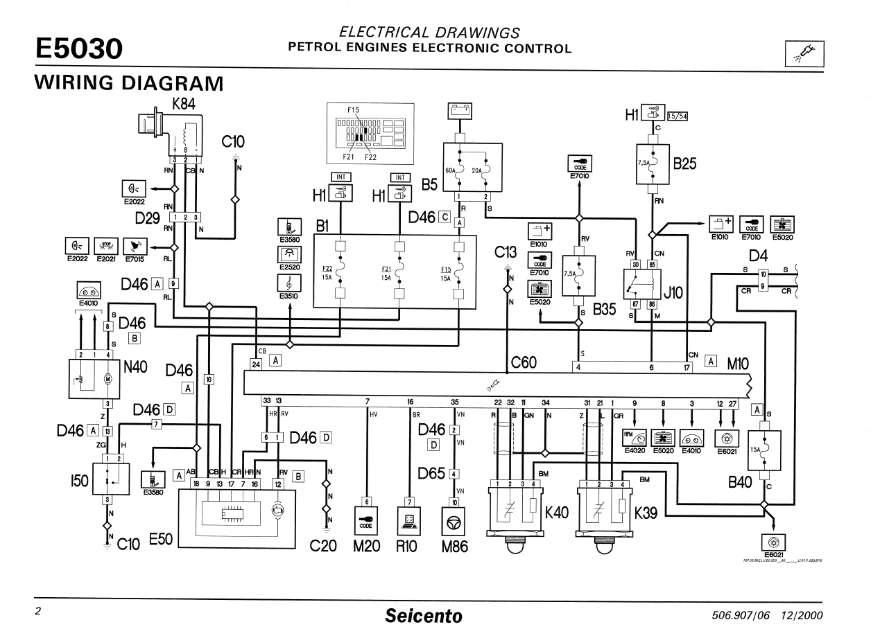 Fiat seicento ecu wiring diagram wiring diagram seicento ecu pin out the fiat forum aldl wiring diagram fiat seicento ecu wiring diagram asfbconference2016 Images