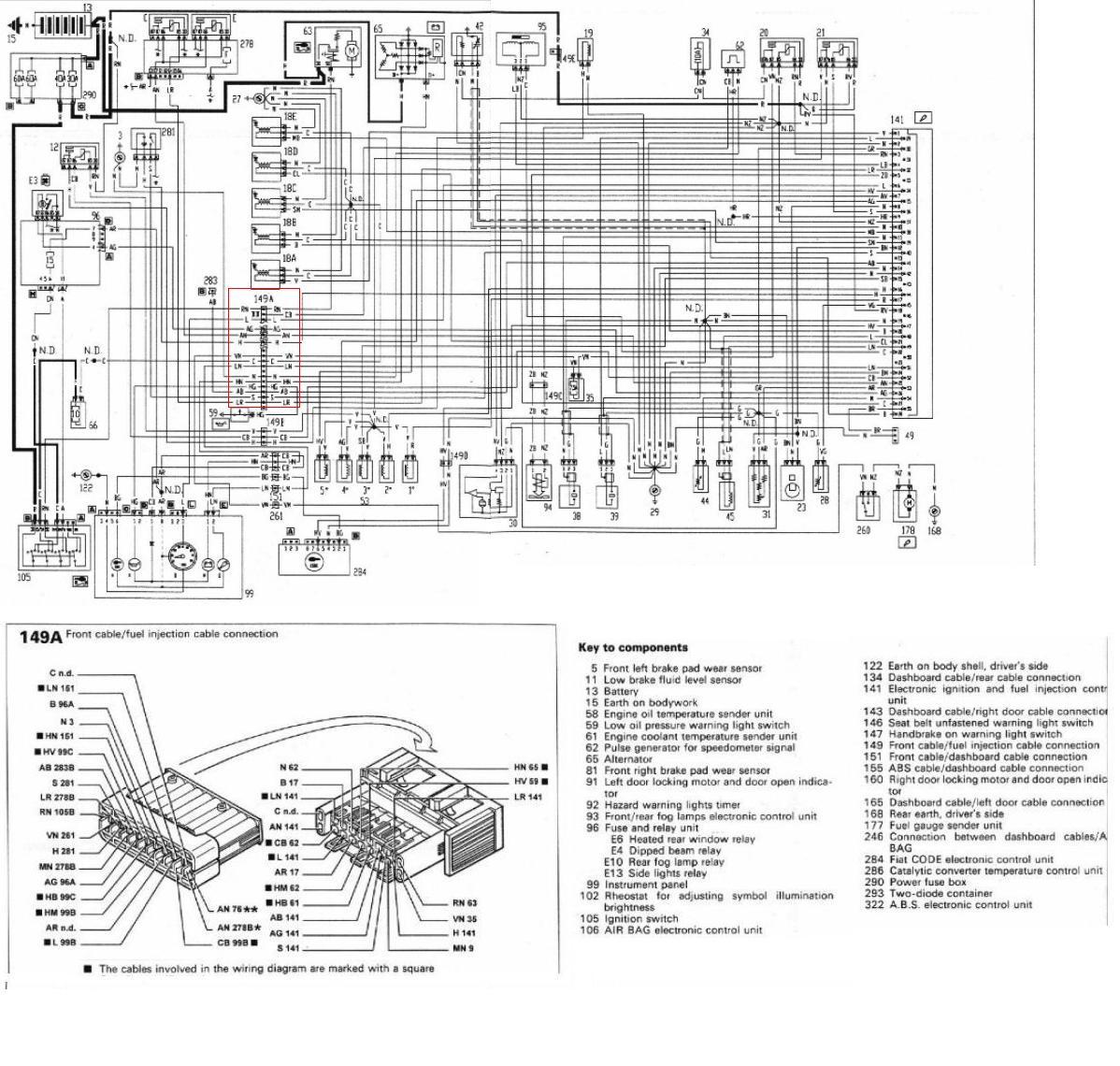 Coupe Diagram Large - The Fiat Forum