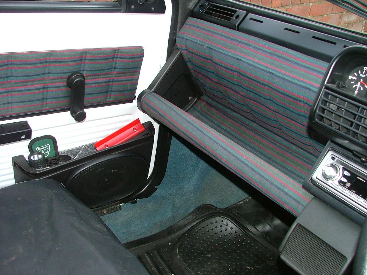 Fiat Panda 4x4 1990 Interior The Fiat Forum Photo Gallery