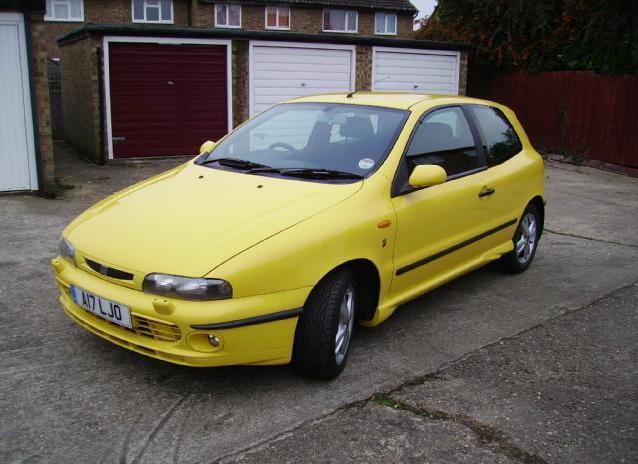 FiatBravo-Yellow
