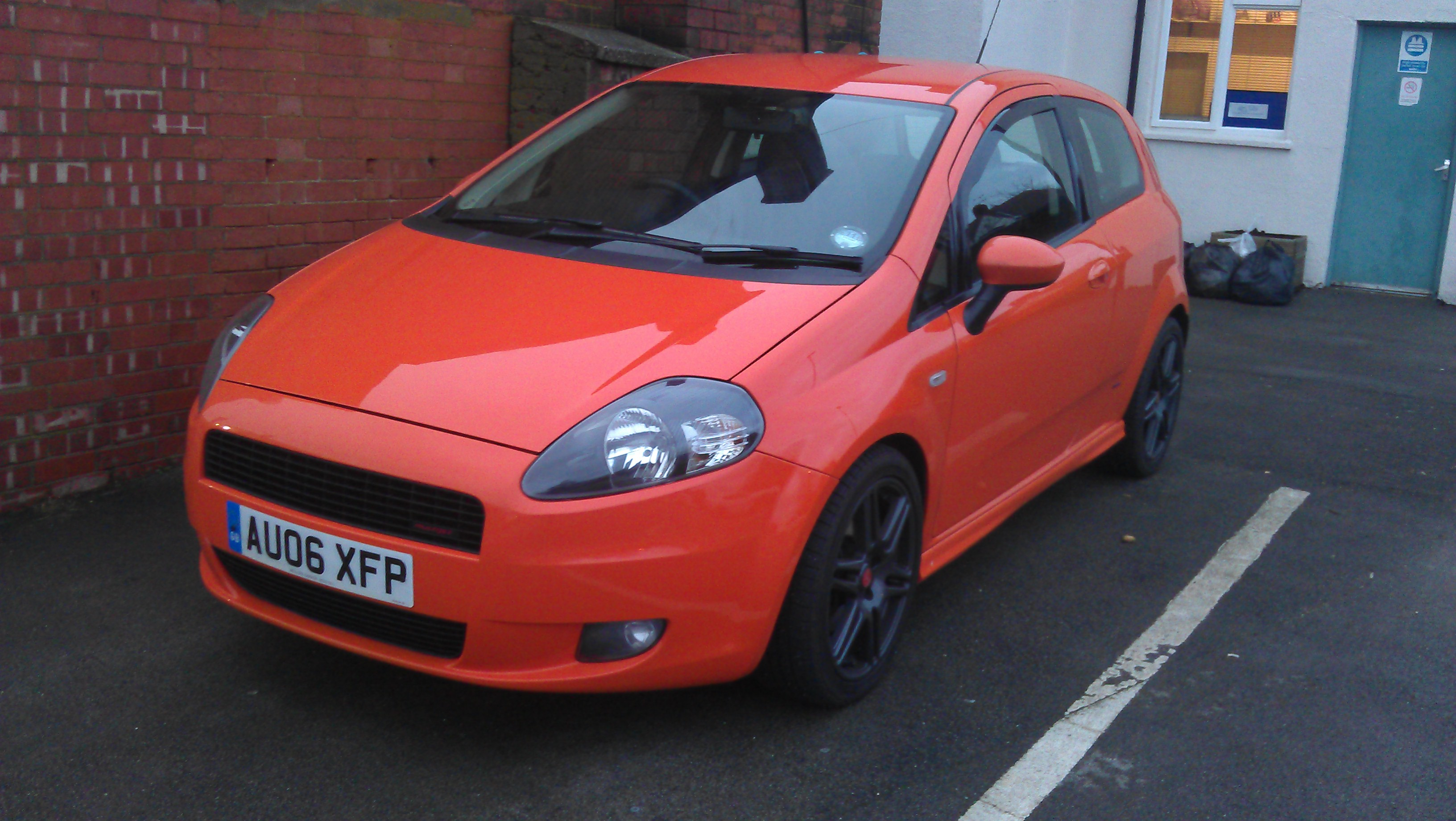 Grande Punto My Orange Fiat Grande Punto 1 9 Sporting