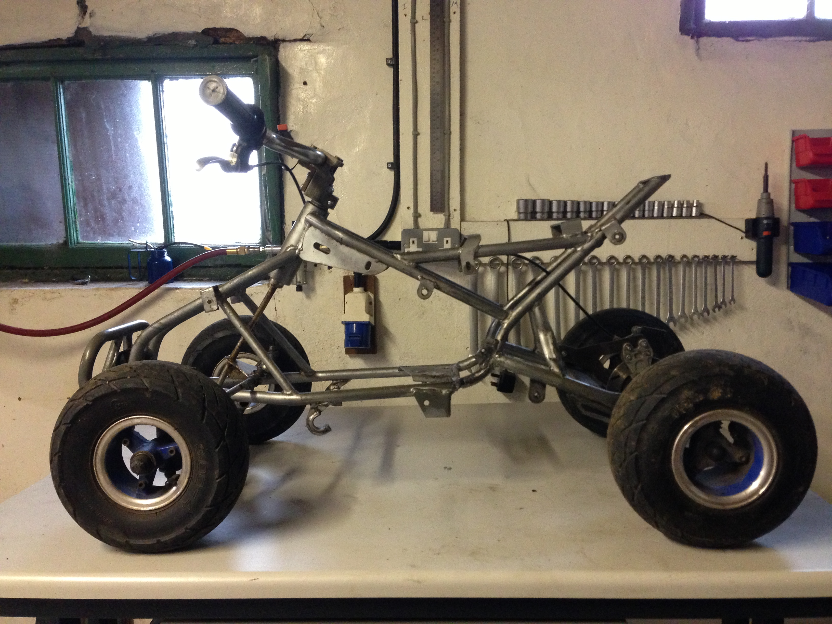 Mini Quad 50cc 2 Stroke To 110cc Lifan