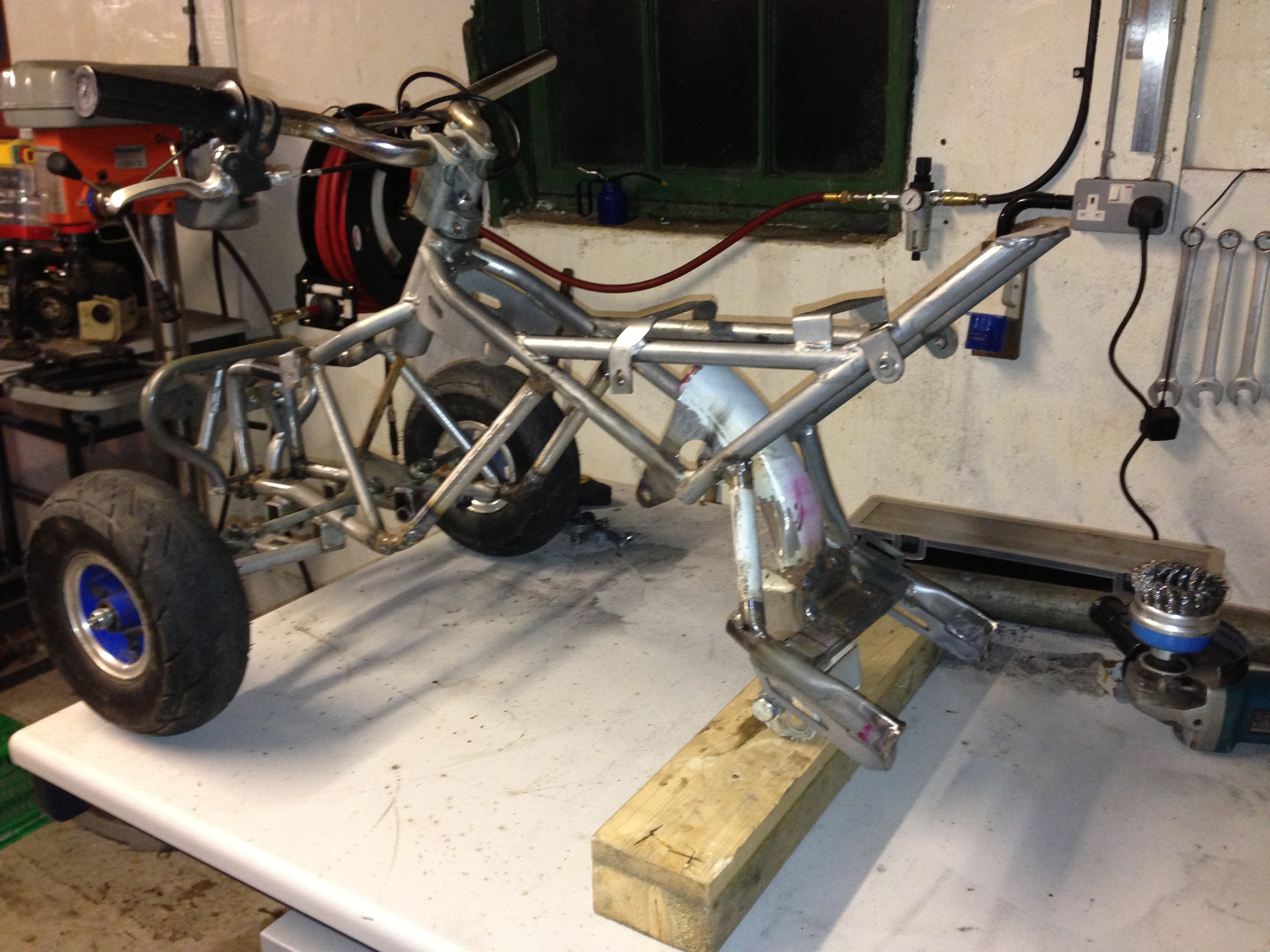 Miniquad 50cc 2 Stroke To 110cc 4 Stroke Custom Pocket Bike Forum