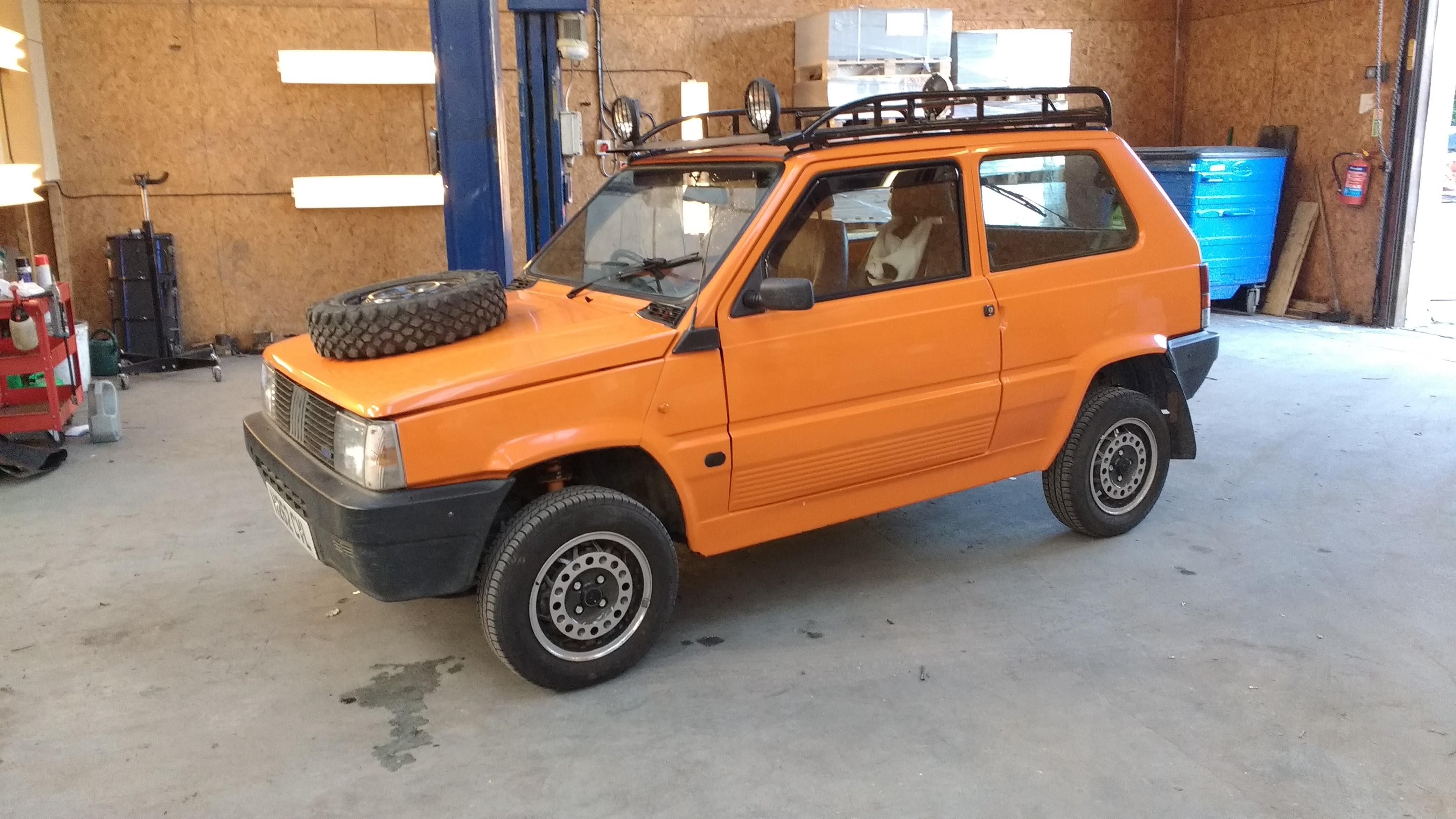 Fiat Panda 4x4 Steering Problems ✓ The FIAT Car