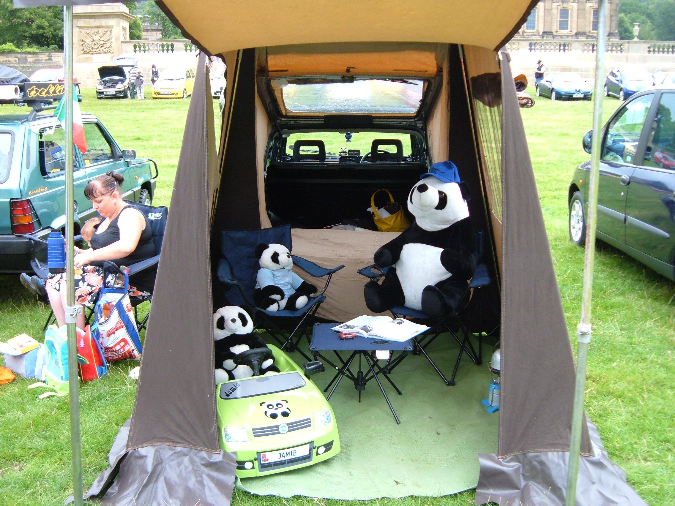 panda tent & panda tent - The FIAT Forum - Photo Gallery