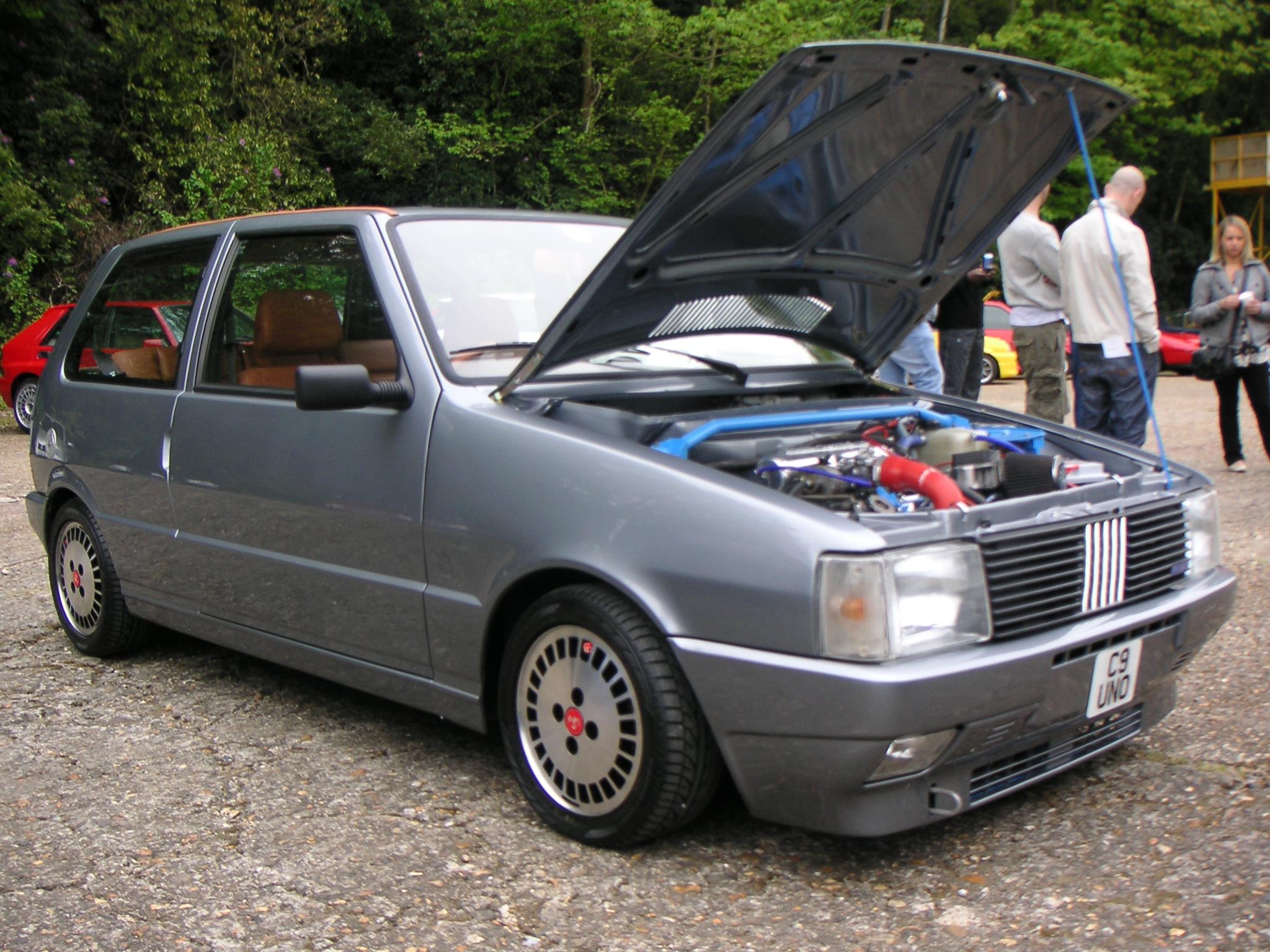 1988 MK1 Fiat Uno Turbo i.e. & 1990 MK1 Fiat Uno Turbo i.e.