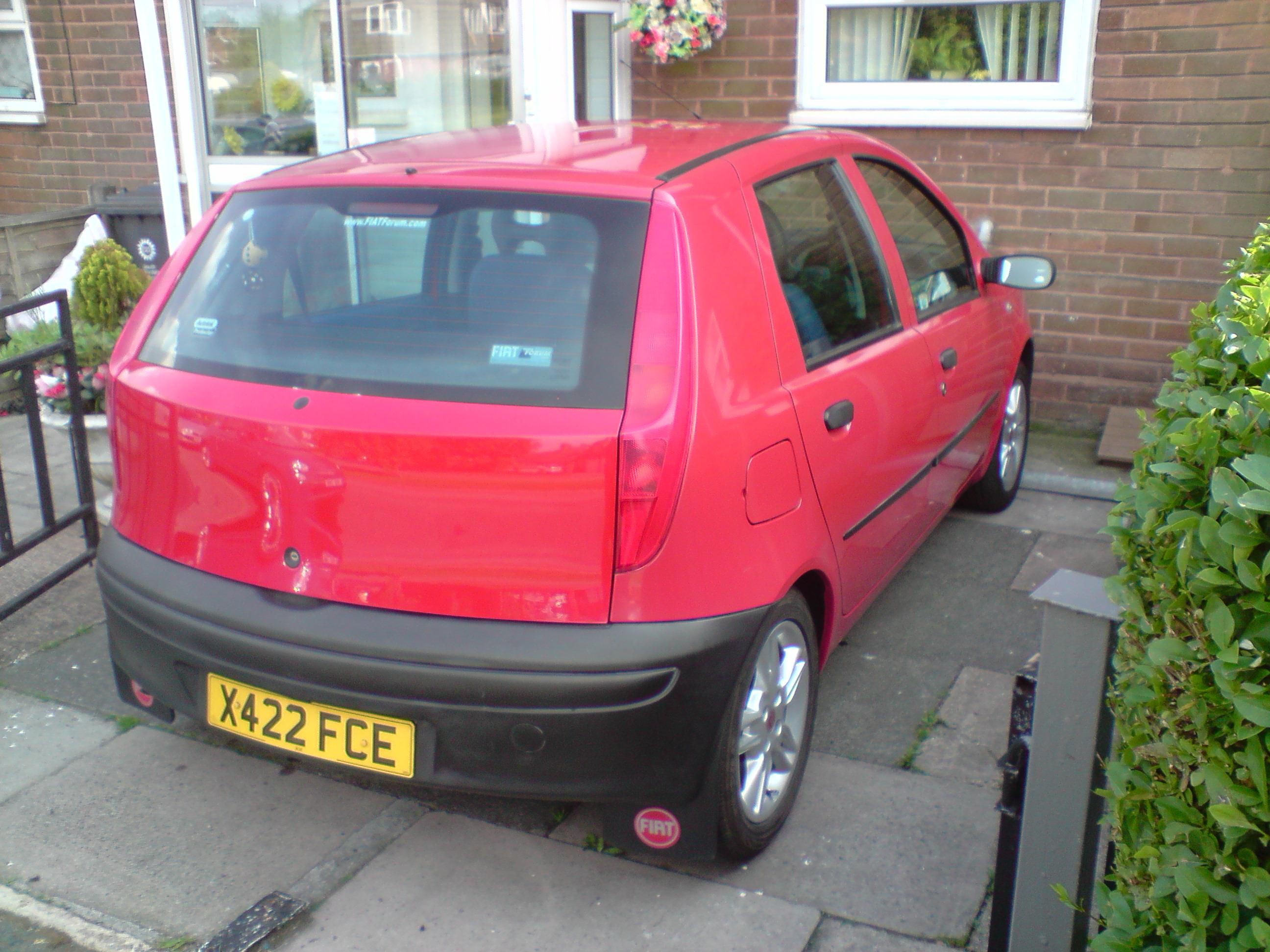 Punto  Mk2  2b   My Red 1 2 8v  Subtle Changes   Pic Heavy