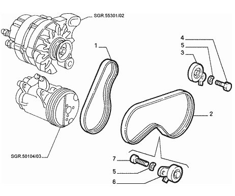 Wiring Diagram Satchwell Thermostat in addition Jeep Wrangler Jk Fog Light Wiring Diagram additionally Toyota 4runner Hilux Surf Wiring Diagram Electrical System Circuit 06 further Infiniti Qx4 Rear Suspension Diagram likewise T8814677 Test ect sensor. on audi a4 alternator wiring diagram
