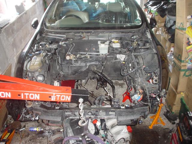 Remplacement moteur 1.9 JTD 100 GT 2001 DSC004341