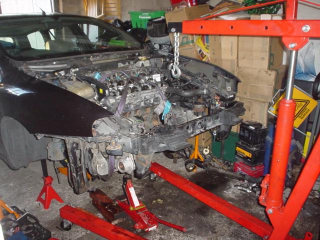 Remplacement moteur 1.9 JTD 100 GT 2001 DSC004502