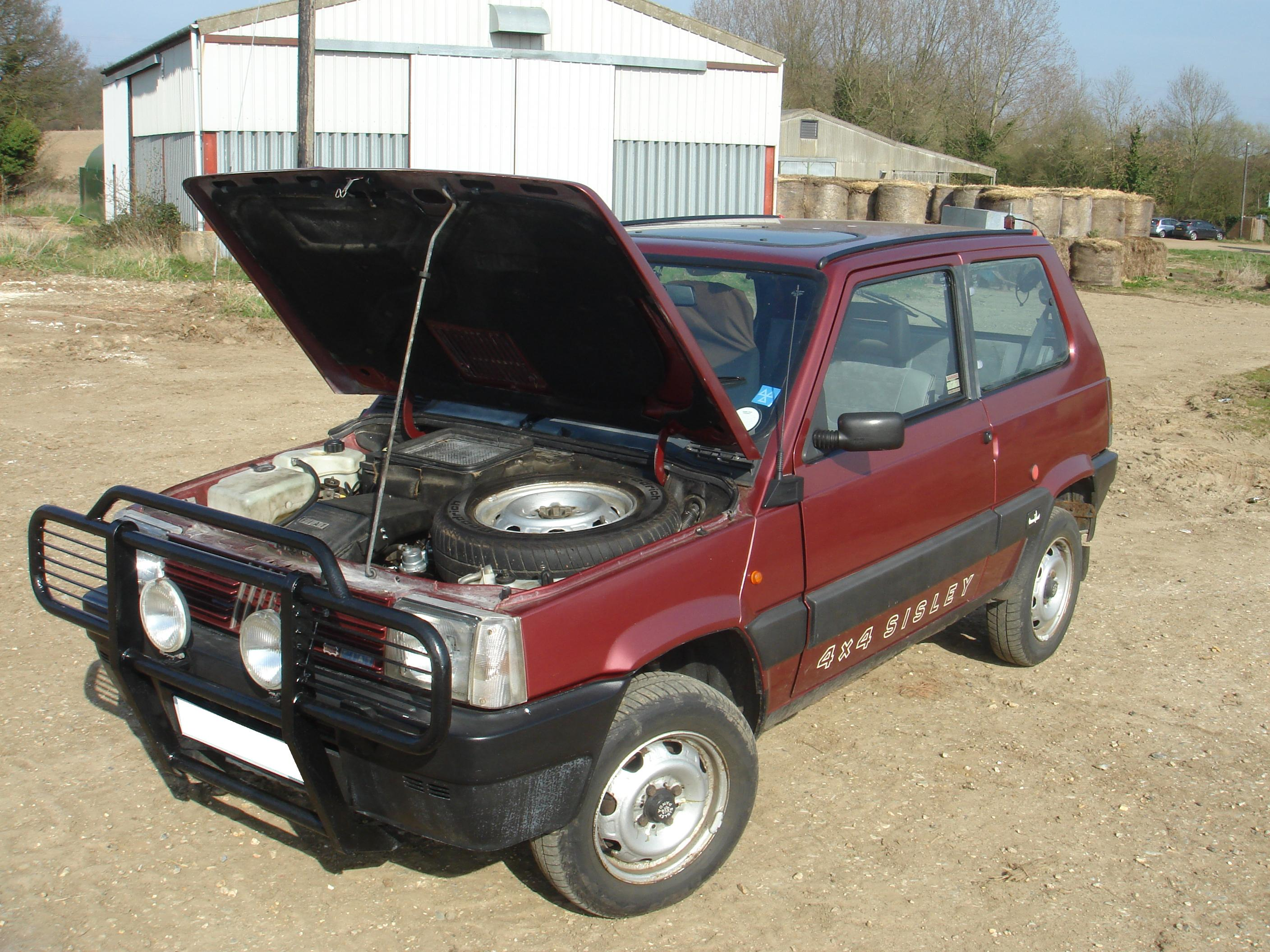 Technical the newest sisley 4x4 in the fleet the fiat forum for Fiat panda 4x4 sisley usata
