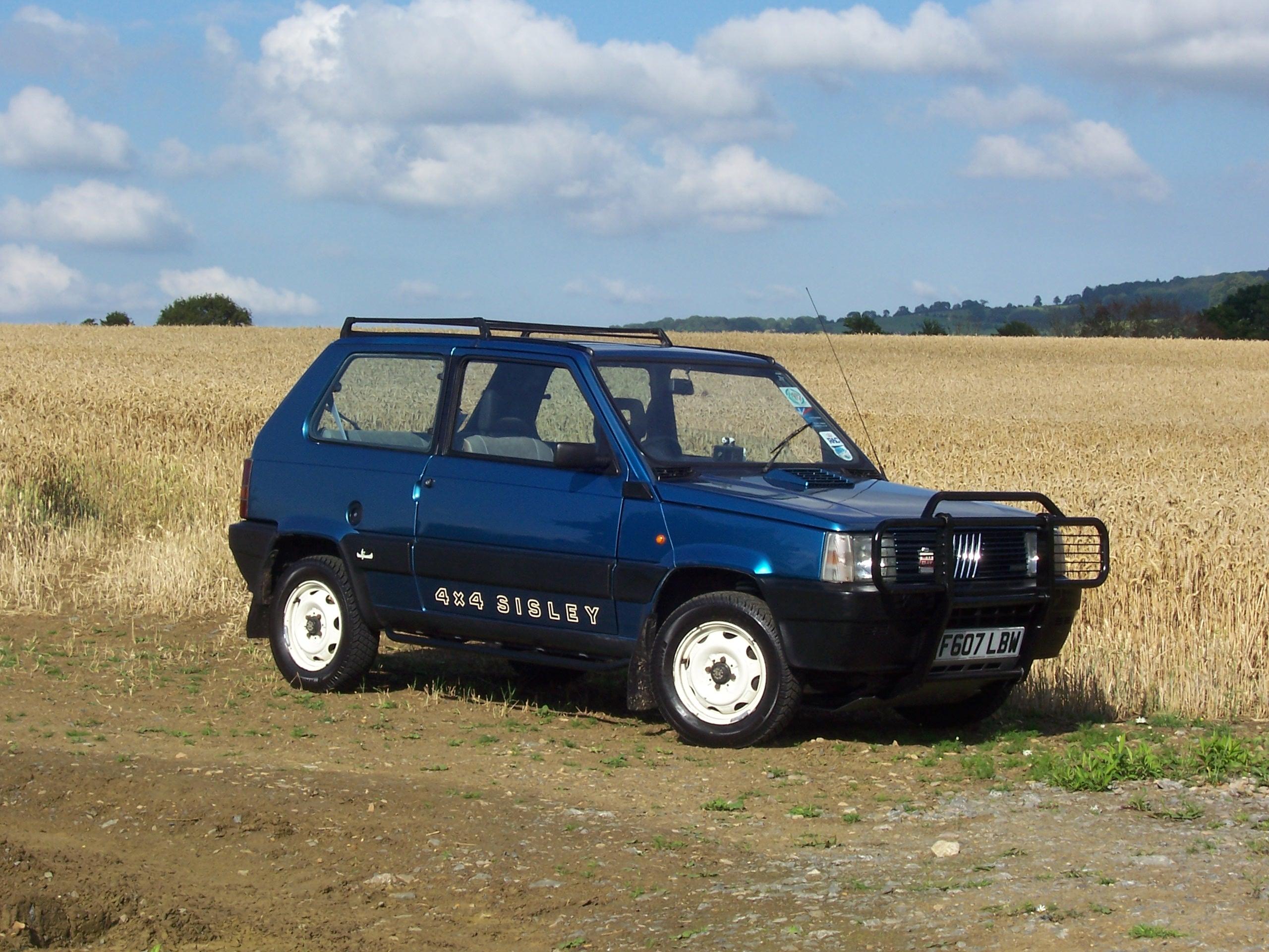 Fiat panda 4x4 sisley off road for Panda 4x4 sisley off road