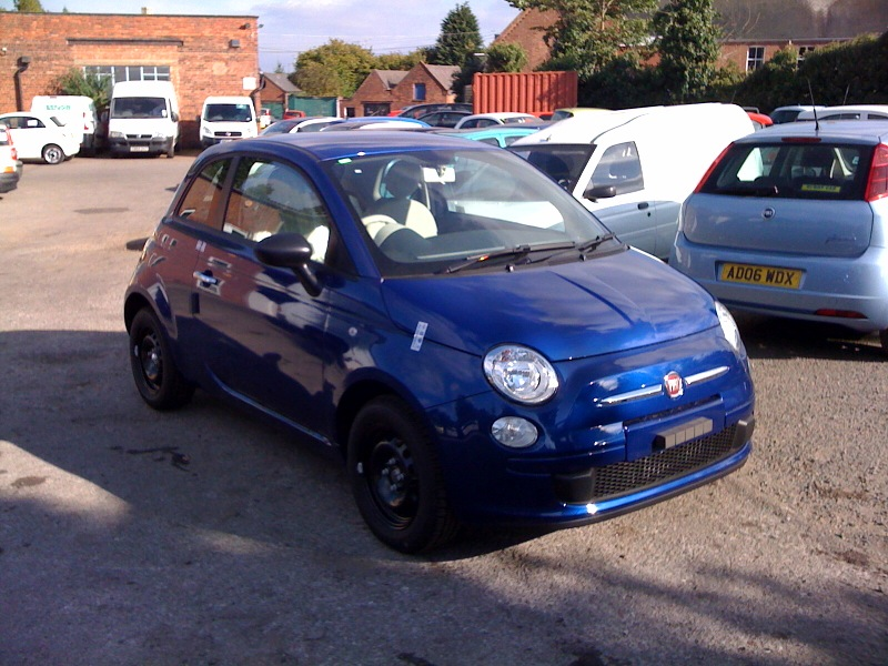 general fiat 500 new orleans blue collecting tomorrow. Black Bedroom Furniture Sets. Home Design Ideas