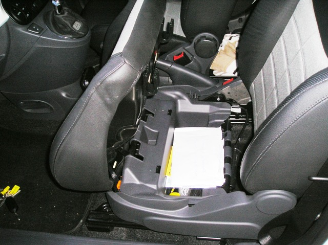 General Under Seat Storage The Fiat Forum